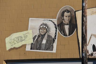Battle Ground received its name because of the battle that never happened between these two men, Captain Strong and Chief Umtuch.