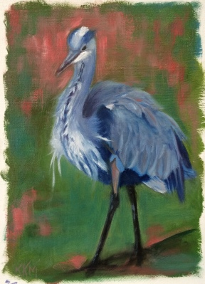 G is For Great Blue Heron