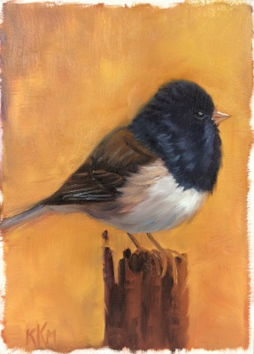 J is for Junco--Oregon Junco