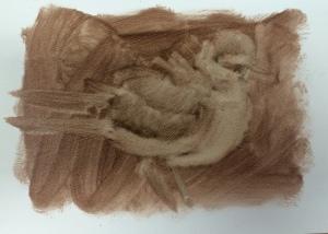 Rough sketch--5 min.