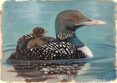 L is for Loon_painted 10_23&26_15