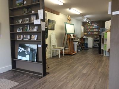 studio from front door